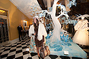 LOUISE ROE, Unveiling of the Dior Christmas Tree by John Galliano at Claridge's. London. 1 December 2009<br /> LOUISE ROE, Unveiling of the Dior Christmas Tree by John Galliano at Claridge's. London. 1 December 2009 *** Local Caption *** -DO NOT ARCHIVE-© Copyright Photograph by Dafydd Jones. 248 Clapham Rd. London SW9 0PZ. Tel 0207 820 0771. www.dafjones.com.