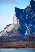 Mountain view, Isjforden, Svalbard