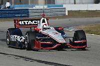 Helio Castroneves, Sebring test, 2/19/2013