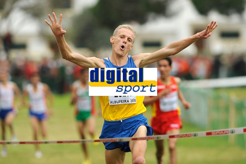 CROSS COUNTRY - EUROPEAN CHAMPIONSHIPS 2010 - ALBUFEIRA (POR) - 11-12/12/2010 - PHOTO : JULIEN CROSNIER / DPPI - SENIOR MEN - SERHIY LEBID (UKR / WINNER