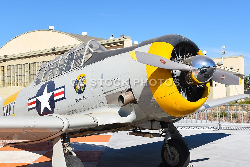Vintage Airplane Display At The Great Park Irvine