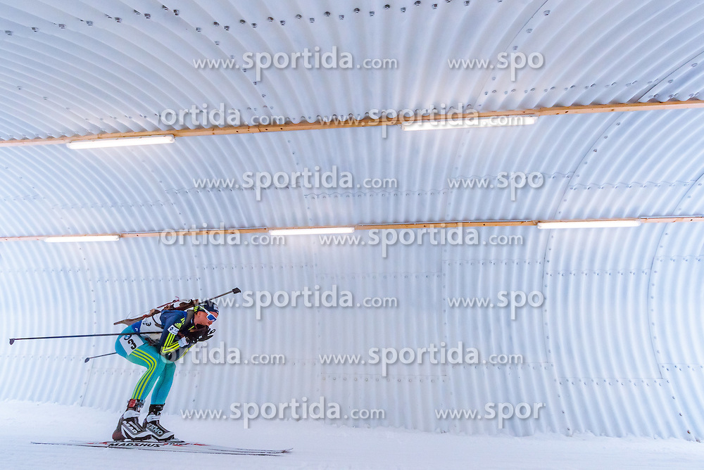 17.02.2017, Biathlonarena, Hochfilzen, AUT, IBU Weltmeisterschaften Biathlon, Hochfilzen 2017, Staffel Damen, im Bild Anastasiya Merkushyna (UKR) // Anastasiya Merkushyna of Ukraine // during Womens Relay of the IBU Biathlon World Championships at the Biathlonarena in Hochfilzen, Austria on 2017/02/17. EXPA Pictures © 2017, PhotoCredit: EXPA/ JFK