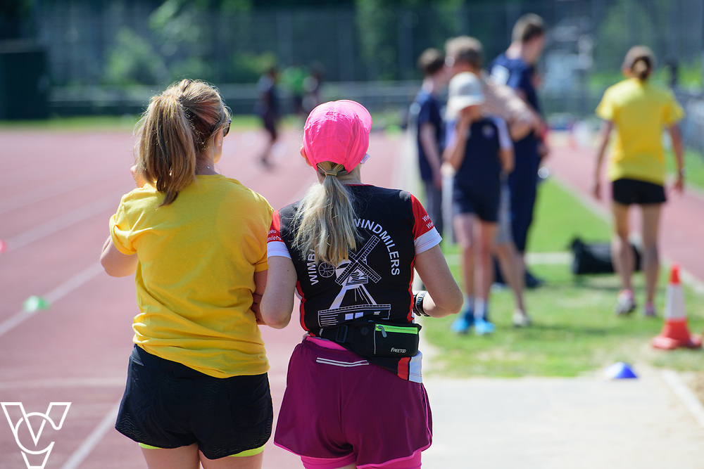 Metro Blind Sport's 2017 Athletics Open held at Mile End Stadium.  Festival images.<br /> <br /> Picture: Chris Vaughan Photography for Metro Blind Sport<br /> Date: June 17, 2017