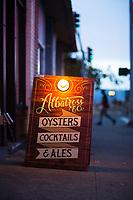 Albatross and Co. restaurant. Astoria, Oregon.