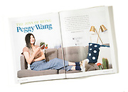 Peggy Wang photographed for Tulane