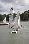 Sailing boats, River Deben, Woodbridge, Suffolk, England