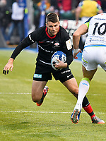 Rugby Union - 2019 / 2020 European Rugby Heineken Champions Cup - Pool Four: Saracens vs. Ospreys<br /> <br /> R. Wigglesworth, of Saracens attacks, at Allianz Park.<br /> <br /> COLORSPORT/WINSTON BYNORTH