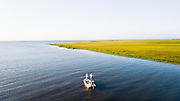 Salt Water Fly Fishing, South Carolina.