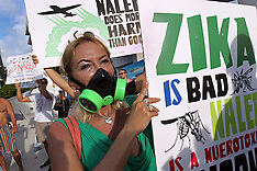 Miami: People Protest The Use Of Pesticide NALED, 15 September 2016