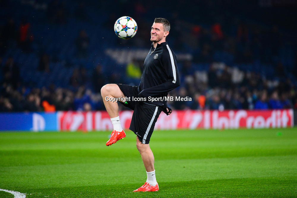 Nicolas DOUCHEZ - 11.03.2015 - Chelsea / Paris Saint Germain - 1/8Finale retour Champions League<br /> Photo : Dave Winter / Icon Sport