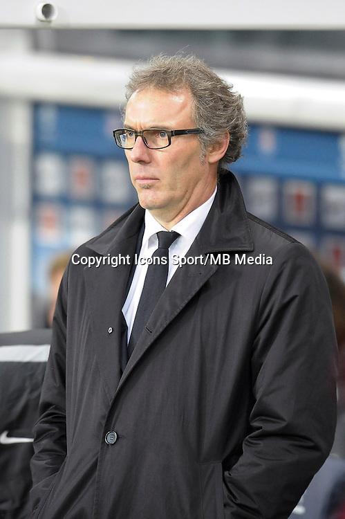 Laurent Blanc - 06.12.2014 - PSG / Nantes - 17eme journee de Ligue 1<br />Photo : Andre Ferreira / Icon Sport