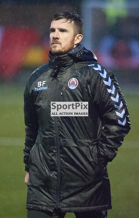 Barry Ferguson (Clyde manager) ¥ Annan Athletic v Clyde ¥ Ladbrokes League 2 ¥ 26 December 2015 ¥ © Russel Hutcheson | SportPix.org.uk