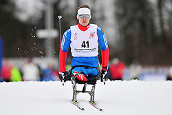 BYCHENOK Alexey, RUS at the 2014 IPC Nordic Skiing World Cup Finals - Long Distance