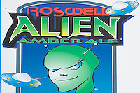 Alien ale at UFO Museum, Roswell, New Mexico.