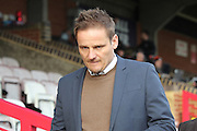 AFC Wimbledon manager Neal Ardley prior the EFL Sky Bet League 1 match between AFC Wimbledon and Oxford United at the Cherry Red Records Stadium, Kingston, England on 14 January 2017. Photo by Stuart Butcher.