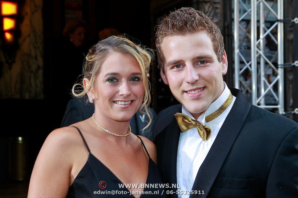 NLD/Amsterdam/20110905 - Premiere The Devils Double, Wesley Klein en partner Nellie