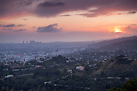 Griffith Park Sunset, Los Angeles, California