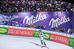 "VLHOVA Petra (SVK) competes during the Audi FIS Alpine Ski World Cup ""Snow Queen Trophy"" Women's Slalom, on January 4, 2020 in Sljeme, Zagreb, Croatia. Photo by Sinisa Kanizaj / Sportida"
