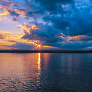 &quot;The End&quot;<br /> <br /> The end to an amazing sunset on Lake Superior!