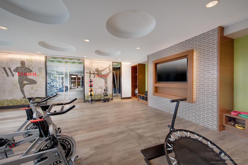 Interior Design Image of West Broad Apartments in Falls Church Virginia by Jeffrey Sauers of Commercial Photographics, Architectural Photo Artistry in Washington DC, Virginia to Florida and PA to New England