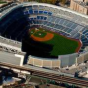 Aerial view of Yankee Stadium, Bronx, New York