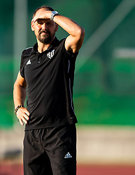 Ante Šimundža, head coach of Mura during football match between NK Triglav and NS Mura in 5th Round of Prva liga Telekom Slovenije 2019/20, on August 10, 2019 in Sports park, Kranj, Slovenia. Photo by Vid Ponikvar / Sportida