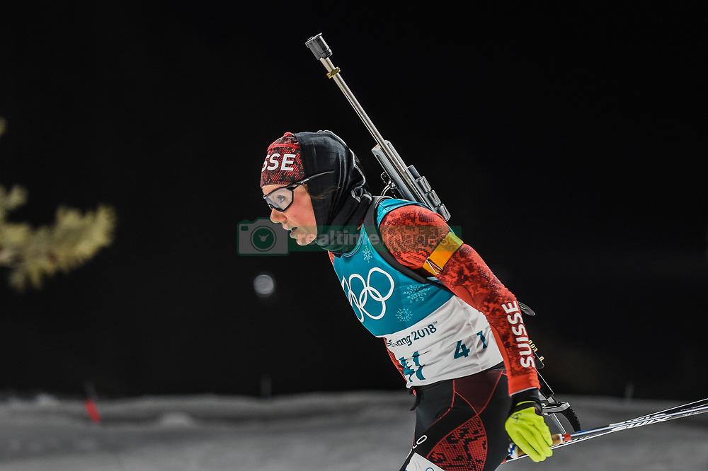 February 12, 2018 - Pyeongchang, Gangwon, South Korea - Selina Gasparin ofSwitzerland  competing at Women's 10km Pursuit, Biathlon, at olympics at Alpensia biathlon stadium, Pyeongchang, South Korea. on February 12, 2018. Ulrik Pedersen/Nurphoto  (Credit Image: © Ulrik Pedersen/NurPhoto via ZUMA Press)