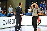 Bari, 08/08/2010<br /> Eurobasket men 2011 Qualifying Round<br /> Italia - Finalndia<br /> Nella foto: Simone Pianigiani<br /> Foto Ciamillo