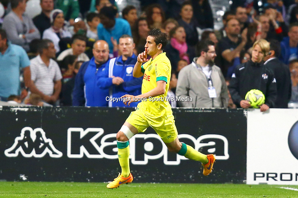 Joie Alejandro Bedoya - 25.04.2015 - Toulouse / Nantes - 34eme journee de Ligue 1<br />