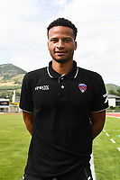 Jerome Phojo of Clermont during the friendly match between Montpellier Herault and Clermont foot on July 19, 2017 in Millau, France. (Photo by Philippe Le Brech/Icon Sport)