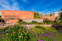 Denver Botanic Gardens, Denver, Colorado USA.