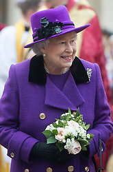 The Queen visits Southwark Cathedral in  London, Thursday, 21st November 2013. Picture:  i-Images