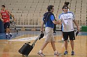 ATENE 29/08/2013<br /> AKROPOLIS CUP  ALLENAMENTO <br /> NELLA FOTO MARIO FIORETTI ANDREA TRINCHIERI<br /> FOTO CIAMILLO