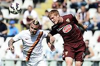 Radja Nainggolan Roma, Alessandro Gazzi Torino <br /> Torino 12-04-2015 Stadio Olimpico, Football Calcio Serie A Torino - Roma Foto Image Sport / Insidefoto