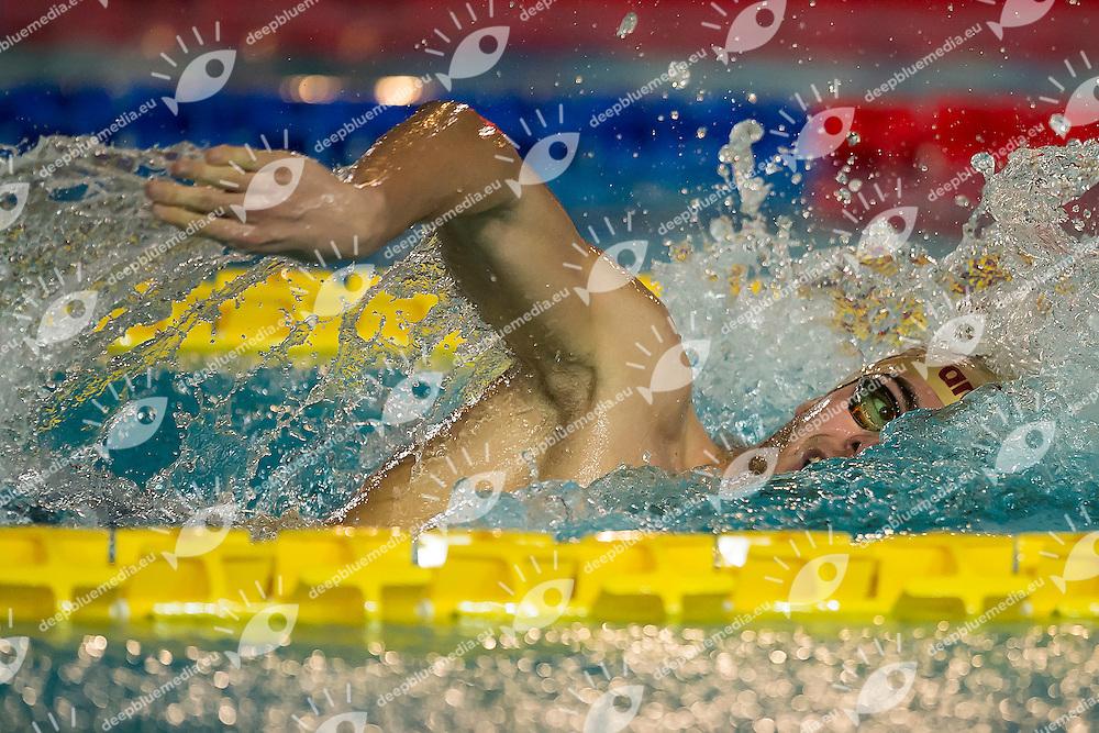 Gregorio Paltrinieri Fiamme Oro<br /> Day01 800m Stile Libero Uomini<br /> Campionati Italiani Assoluti Nuoto Invernali Open Fin<br /> Riccione Italy 16-17/12/2016<br /> Photo Andrea Masini/Deepbluemedia/Insidefoto