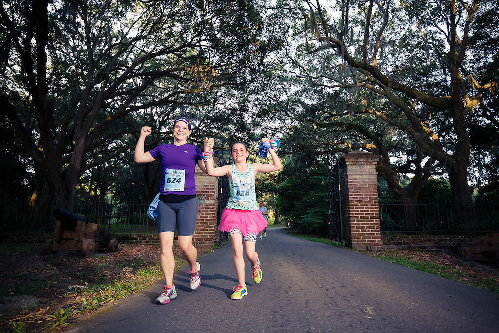 Images from the fifth, and final Race the Landing 5k Series at Charlestowne Landing in Charleston, South Carolina.