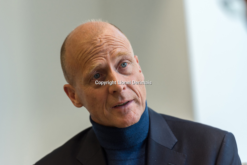 Thomas &quot;Tom&quot; Enders, PDG d'Airbus, photographi&eacute; &agrave; Londres le 16 janvier 2018.<br />