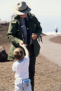 Park Ranger, Young Boy, Boy, Child, Haleakala National Park, Maui, Hawaii