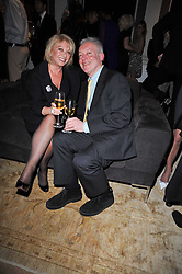 ELAINE PAIGE and NICKOLAS GRACE at the BAFTA Nominees party 2011 held at Asprey, 167 New Bond Street, London on 12th February 2011.