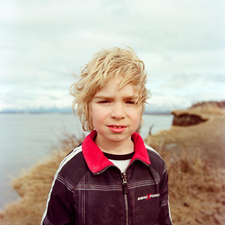 ANCHORAGE, ALASKA - 2012: Sam.