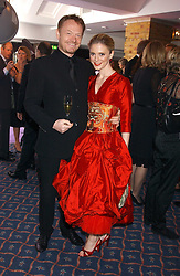 Actress EMILIA FOX and her husband JARED HARRIS at the 2005 Whitbread Book Awards 2005 held at The Brewery, Chiswell Street, London EC1 on 24th January 2006. The winner of the 2005 Book of the Year was Hilary Spurling for her biography 'Matisse the Master'.<br />