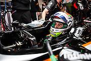 April 10-12, 2015: Chinese Grand Prix - Sergio Perez (MEX), Force India