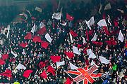 ALKMAAR - 16-02-2017, AZ - Olympique Lyon, AFAS Stadion, sfeer, supporters