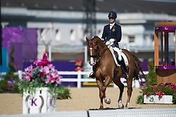 Geroge Michele (BEL) - Rainman<br /> Team Test - Grade IV - Dressage <br /> London 2012 Paralympic Games<br /> © Hippo Foto - Jon Stroud