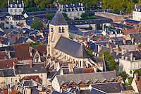 France, Cher (18), Bourges, centre historique, Eglise St Pierre de Guillard // France, Cher (18), Bourges, historic center, St Pierre de Guillard  church