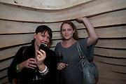 LAURA K. JONES; Emma Cunniffe; , VIP. Very Important Pest opening  party. Pestival. South Bank. 4 September 2009