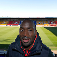St Johnstone striker Gregory Tade pictured at McDiarmid Park...26.10.12 <br /> <br /> Picture by Graeme Hart.<br /> Copyright Perthshire Picture Agency<br /> Tel: 01738 623350  Mobile: 07990 594431