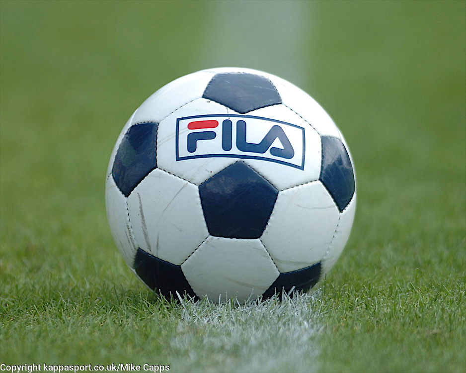FILA BALL, Mansfield Town v Kettering Town, Blue Square Premier Field Mill, Saturday 27th August 2011