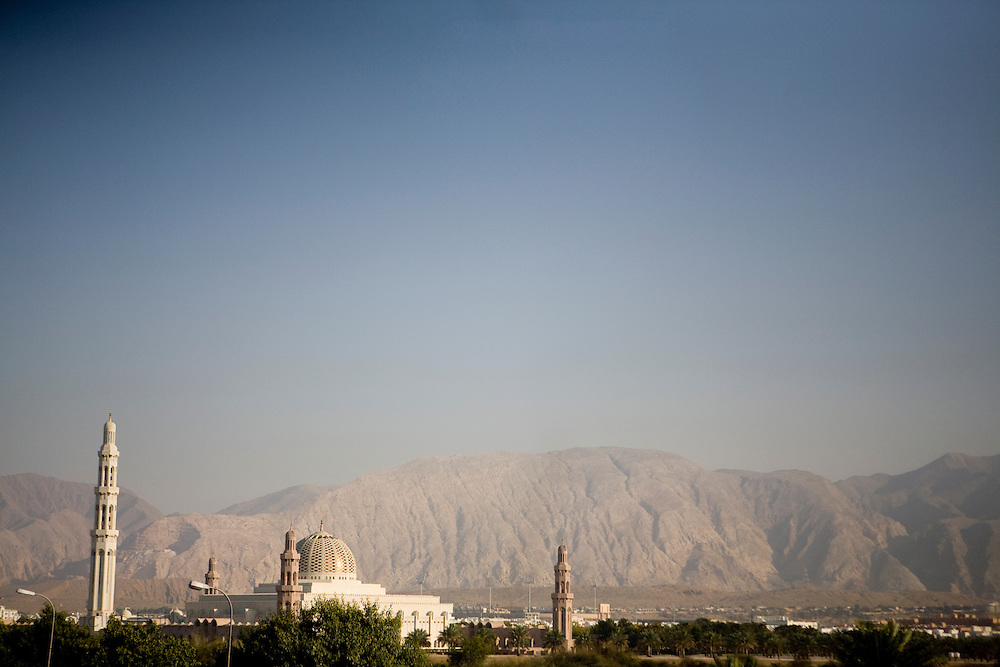 Sultanate of Oman. January 31st 2009..On the way to Muscat