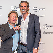 NLD/Amsterdam/20170320 - Onegin – Het Nationale Ballet premiere, Michiel van Erp en .......